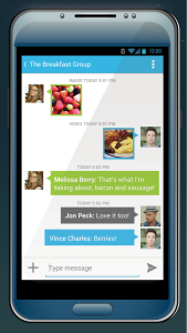 Voxox, Group messaging, texting apps