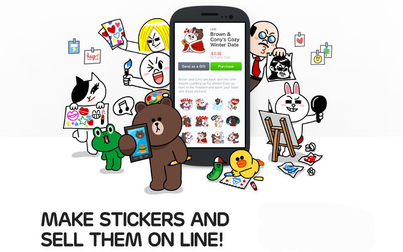LINE Creator's Market Exceeds 36 Million Sticker Pack Sales With 270,000 S...