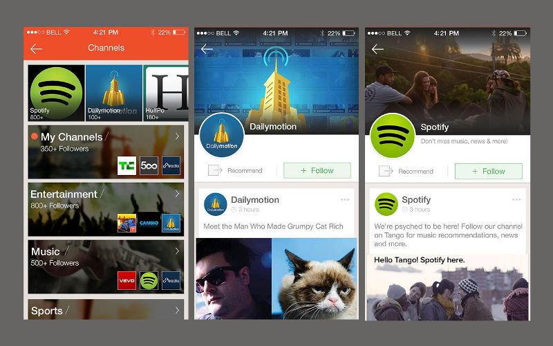 Tango Expands Their Music, Entertainment Offerings With Rhapsody, SoundCloud, Hu...