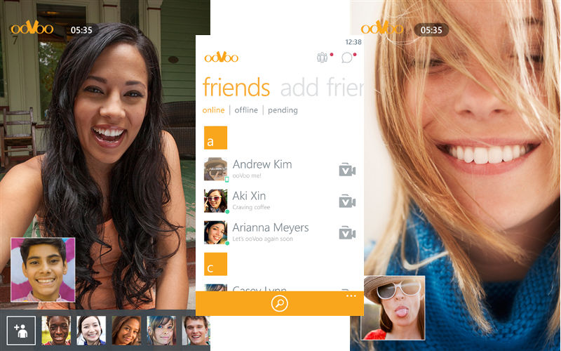 ooVoo for Windows Phone Now Allows Users to Name Groups, Includes Cloud Syncing ...