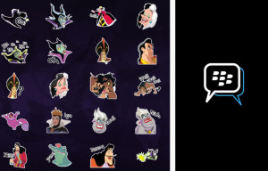 Paul Frank and Disney Villains Stickers Arrive on BlackBerry Messenger Sticker Shop