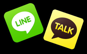 LINE, KakaoTalk, Asian apps