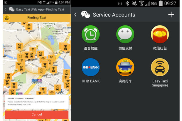 You Can Now Book a Cab With WeChat Thanks to Integration With Easy Taxi