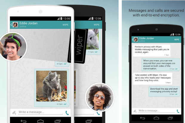 Wiper Calling and Messaging App Available on Android and iOS After $2 Million Investment