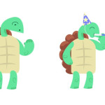 Teddy the Dancing Turtle Tangos and Spins His Way Onto imo Messenger
