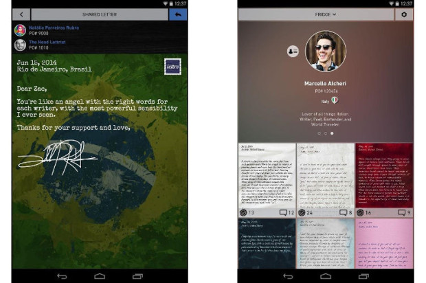 lettrs Platform Launches on Android, Bringing Handwritten Letters Back to the Mainstream