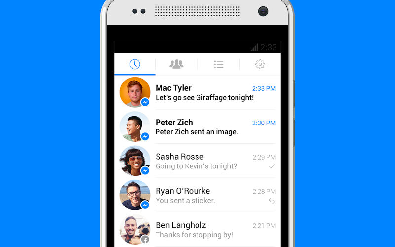 Facebook Messenger Crosses the 500 Million Downloads Threshold on Google Play St...