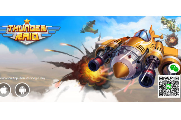 Thunder Raid, a Social Shooter Game, Is Now Available on the WeChat Gaming Platform