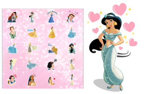 New Sticker Pack Featuring the Disney Princesses Launches in the BBM Shop