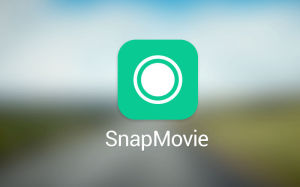 LINE SnapMovie, LINE apps, video creation software