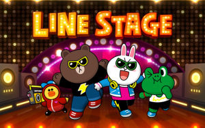 LINE Stage, LINE games, LINE app gaming