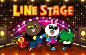 Rock With Your Favorite LINE Characters With the New LINE Stage Rhythm Game