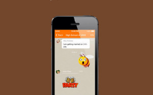 Nimbuzz for iPhone, iOS communications apps, messaging app