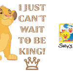 Disney's The Lion King and Suzy's Zoo Sticker Packs Now Available on BBM