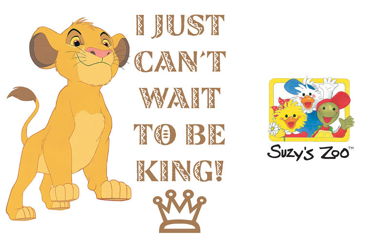 Disney's The Lion King and Suzy's Zoo Sticker Packs Now Available on...