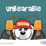 "Viber Launches ""Bear With Me"" Sticker Set in the Viber Sticker Market"