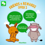 "Get Free Calls With WeChat India's New ""Friends n Rewards"" Campaign"