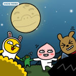 New Halloween Themed Kakao Friends Stickers Hit KakaoTalk Messaging App
