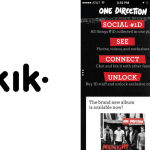 Kik Messenger Receives Smarties Award for Its Campaign with Sony Records, IPG Media Lab, and One Direction