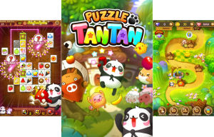LINE Puzzle TanTan puzzle game now available in LINE Store, new event going on now