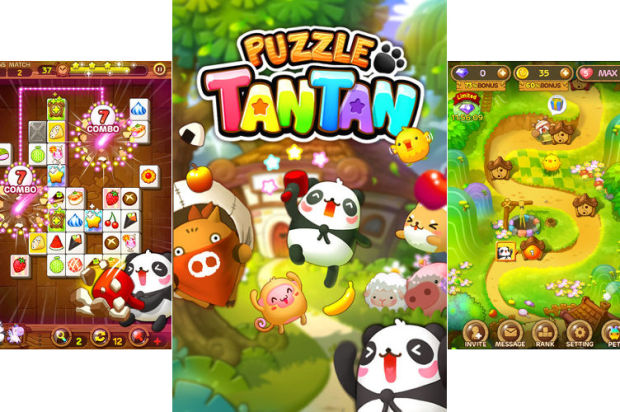 Block-Matching Game Puzzle TanTan Now Available on LINE Messaging Platform