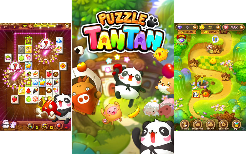 LINE Puzzle TanTan Gets a Major Update With New Bonus Stages, Daily Missions, an...
