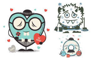 New Monster Stickers Arrive on imo Instant Messenger for Android, iOS, and Amazon