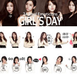 Daum Kakao Partners With Korean Band Girl's Day for KakaoTalk Video Emoticons