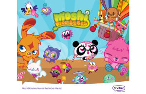 Viber Launches Moshi Monsters Sticker Set on Its Messaging and Calling Platform