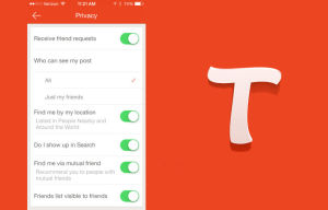 Tango Releases New Options for Privacy Conscious Users on iOS, Android