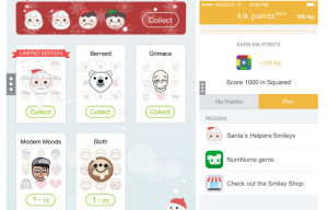 Kik Announces the Launch of Kik Points, Redeemable for Limited Edition Emoticons and More Soon