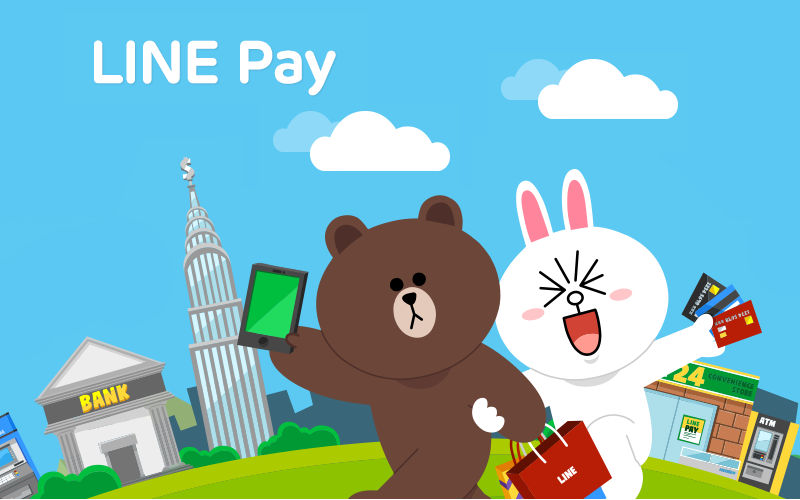 LINE pay, line mobile payments, social media payment options
