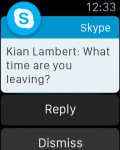 Skype for Apple Watch