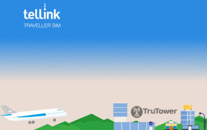 Tellink Traveller SIM, travel SIM cards, International roaming