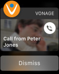 Vonage Apple Watch