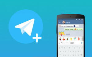 Telegram, Telegram with Aniways, Chat apps
