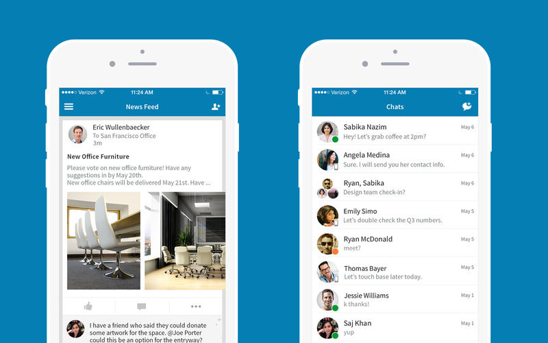 Convo app, Enterprise messaging, Corporate chat