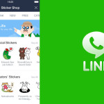 LINE Version 5.2.0 for mobile brings new and improved Sticker Shop