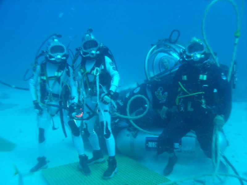NASA NEEMO 20, NASA space communications, Long range communication