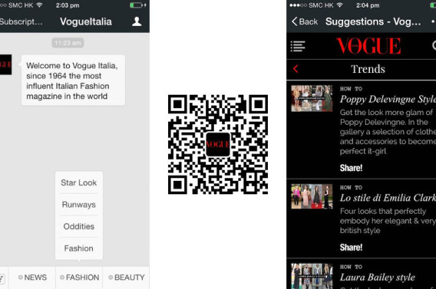 WeChat Returns to Fashion With the Release of new Vogue Italy account