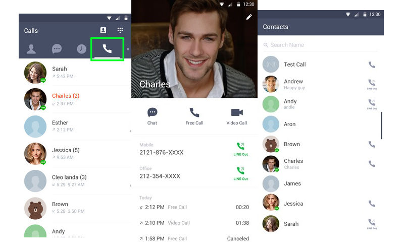 "LINE 4.5.0 for Android marks ""renaissance"" for LINE Premium Call ser..."