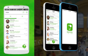 "Spray for iOS and Android brings ""hyperlocal"" messaging to the forefront"