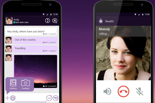 StealthChat offers encrypted messaging and VoIP, with group chats coming soon