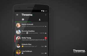 Threema update for Android brings a new dark theme and more improvements