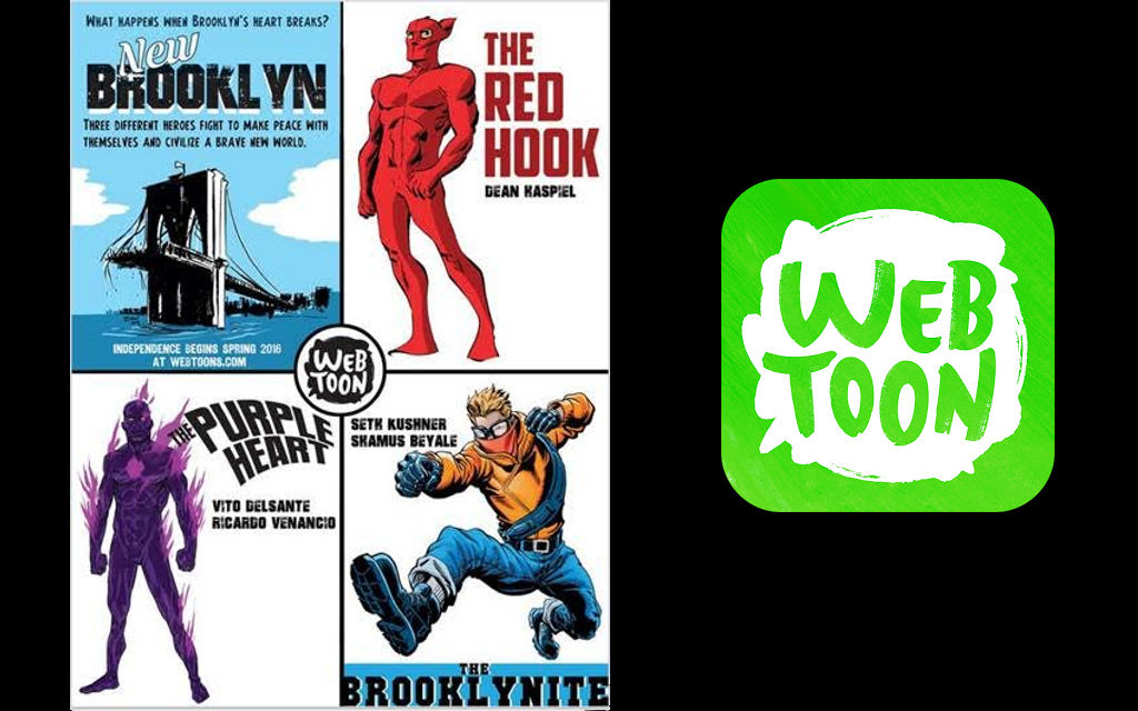 "Brooklyn superhero universe ""New Brooklyn"" coming to LINE Webtoon in..."
