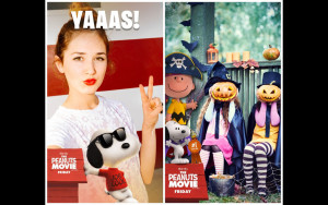Snapchat, Peanuts Movie, Halloween