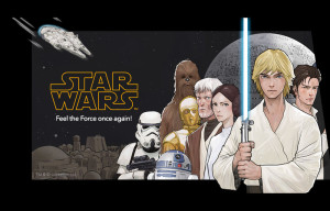 Star Wars digital comic series launches on LINE Webtoon ahead of The Force Awakens
