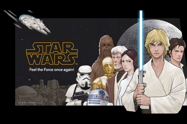 Star Wars digital comic series debuts on LINE Webtoon in the U.S.